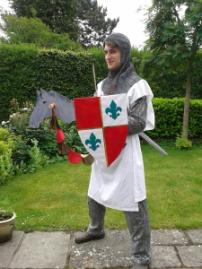 A Knights costume