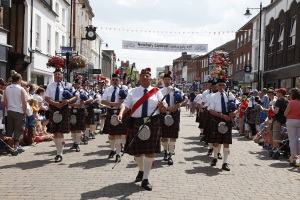 The Reading Scottish Pipe Band