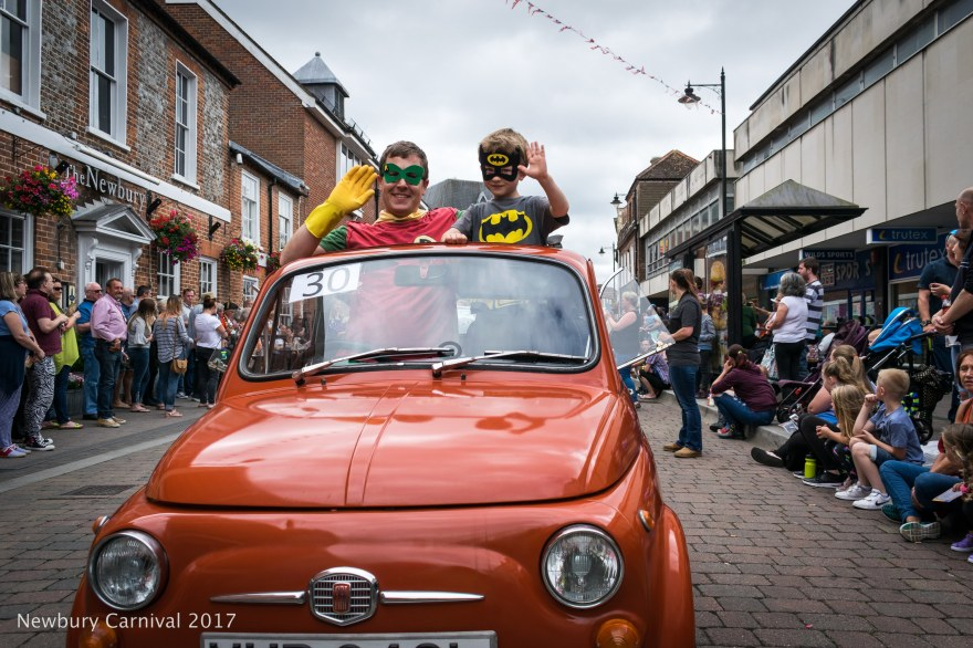 1973 Fiat panda - Batman and Robin