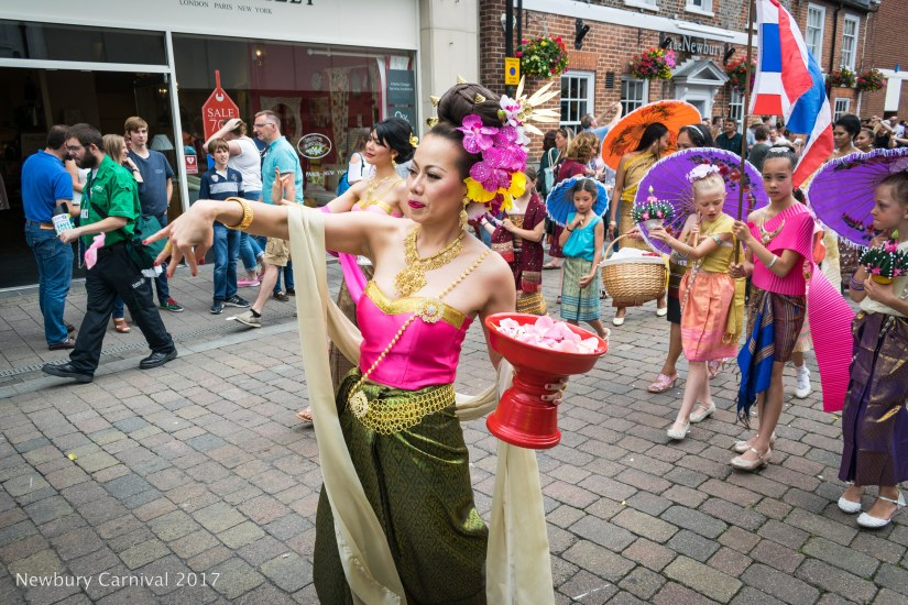 Thai Dancers from the West Berks Community